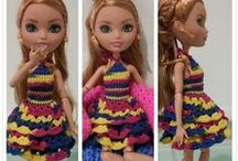 Fashion Doll Crochet Clothes / Crochet items for Fashion Dolls