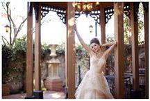 Regency Gardens Photo Shoots / Hair & Makeup by Sabrina & Micky at Babydoll Weddings, Dress from La Bella Bridal Boutique, Photography by Simply D, at Regency Garden, Mesa AZ