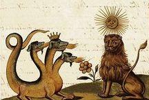 Medieval Bestiary Illustrations