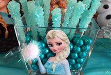 Frozen 5 years / Elementos que se sugieren para fiesta de Frozen.