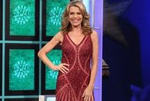 Vanna White's Dresses / Can't get enough of Vanna's amazing fashion? Follow this board to get all the updates on Vanna's Wheel of Fortune dresses and looks!
