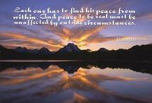 Quotes About Peace / Peace Quotes, Peaceful Quotes