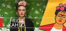 Frida Kahlo Collection / A board dedicated to Frida Kahlo. One of the most renowned female artist, a voice that spoke to an entire nation and beyond. At Musart simply love her and her art!