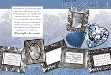 Bachelorette recipe book - done by KDS / This is a recipe book that we designed as a bachelourette gift where all her friends and family gave photos, their own recipes and favourite quotes to be combined into one book. The frames used was first photographed and then manipulated digitally to be used as part of the design.