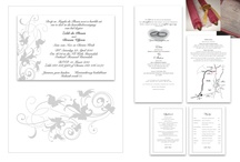 Wedding stationery - done by KDS