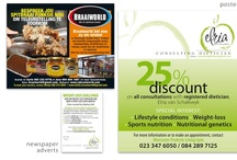 Adverts, flyers and banners - done by KDS