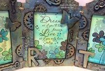 My Altered Art Creations.....