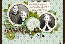 Scrapbook layouts / Scrapbooking ideas