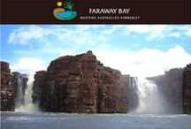 Bucket List Destination - Kimberley / Wildlife, Nature, Bird life, History, Scenic Beauty, Remote  - Outback Australia at it's best - the only way to unwind and discover oneself again - relax and recharge at the Unique Faraway Bay