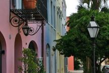Charleston, Savannah, Southern Style.. / Southern through n through! / by Sheryl Walters