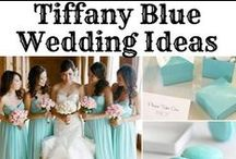 Wedding: Tiffany Blue Wedding Theme Ideas