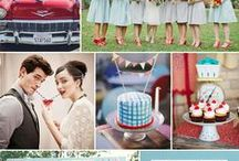 That Classic Vintage / It is a mixture of a fun vintage wedding but giving it more of a classic look and feel.