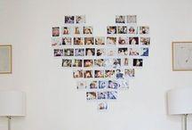 Dekoracje zdjęciowe/ Print decor inspiration / Wasze zdjęcia w Waszym domu. Ozdób ściany wspomnieniami.  Decor your home with memories.