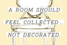 Home Decor Inspiration / Ideas and inspiration for making a house a home....and making it CUTE!