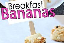 Comidinhas bacanas para o café da manhã / Comidinhas para o café da manhã