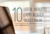 Blogging Tips / Tips, resources, ideas, etc. for running a blog!