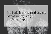 tattoo inspiration / ''It's a piece of art, on your body,,