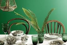 Green / A celebration of green schemes and accents