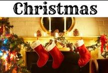 ❤ Christmas! / Everything we LOVE about Christmas!  Christmas decorations, crafts, DIY decor ideas, gifts and gift guides... FOOD:  cookies, recipes, holiday dinner and party planning, White Elephant/Dirty Santa ideas (and other holiday party games) and SO much more.