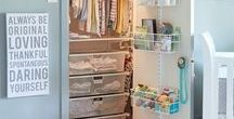 Nursery Ideas  • Baby Rooms and Nurseries / Let's Decorate and Organize the Baby Nursery!  From changing table organizing and set-up ideas, to dressers and clothes tips to nursery closet organization ideas.... lots of tips, tricks, and useful life hacks to organize and decorate baby rooms