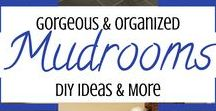 • Mud Room Designs • / • Mudrooms and Mud Room Design Ideas •  Gorgeous pictures of mudrooms ideas DIY for your home entryway mudroom - mudroom cabinets - mudroom cubbies - mudroom benches and storage bench ideas - mudroom laundry room layouts and design ideas - and much more DIY mudroom inspiration
