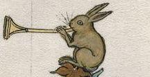 Fun in Medieval Books