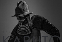 KABUTO by MASAHITO KAJI / KABUTO by MASAHIO KAJI is a hat label characterized by deformation design - uses no existing wooden form. He puts design images come form Kabuto' s brawniness and aesthetic values of traditional Japanese art to hats with boldness and sensitivity.