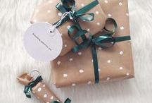 christmas. / christmas xmas inspiration gift packaging decoration ideas winter wonderland