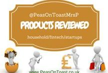 Products reviewed by MrsP / Good value, useful product reviews - innovative startups, household and fintech products - http://www.peasontoast.co.uk/     #reviews  #startups  #financial  #technology  #household #housework