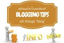 """Blogging tips / All things """"blog"""" - posts from my Website Journey blog and other tips to improve your blog #success  #blog"""