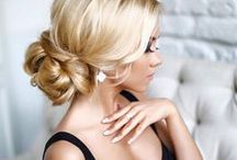 Updos, Braids, and Waves / Get glamourous with our hairstyle inspo!