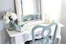Vanity Places / Everyone deserves a beautiful place to primp and prep for the day.