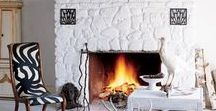 Fireplace Inspiration / Fireplace makeovers and ideas