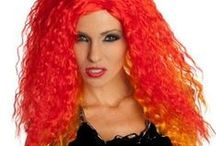 Halloween Wig Collection / Get wiggy with it! Trendy Halloween offers the best selection of children's, men's and women's wigs to complement any Halloween costume. http://www.trendyhalloween.com/Wigs-C50.aspx?afid=15