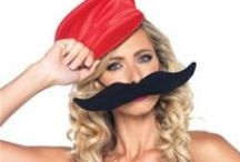 Moustache Collection / Shop 'staches and more, for your Halloween costume or mustache party, by going to Trendy Halloween's store here: http://www.trendyhalloween.com/Moustache-C1386.aspx?afid=15