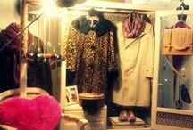Vitrines Craft Bazar & Boutique / Vitrines da loja