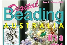 Issue 2 Digital Beading Magazine / Issue 2 of Digital Beading Magazine- full of beautiful beaded jewellery projects + chain maille, polymer clay, wirework and much more!
