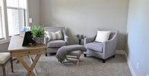 Living Rooms & Flex Rooms / Design a room to gather together with family and friends!