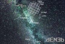 DENEB Alpha Cygni (α Cygni / α Cyg) – Costellazione del Cigno – Cygnus Constellation / DENEB Official© ★ www.denebofficial.com - Deneb (α Cyg, α Cygni, Alpha Cygni) is the brightest star in the constellation Cygnus and one of the vertices of the Summer Triangle. Deneb (α Cyg / α Cygni / Alpha Cygni), è una stella della costellazione del Cigno. Ha una magnitudine apparente di 1,25, che la rende la diciannovesima stella più luminosa del cielo. -
