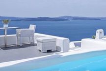 Luxury Hotels in Santorini / Luxury boutique hotels in Santorini, the most romantic Greek island of all. Contact us for a personalised service, exclusive discounted rates and help to find the best deal. http://www.mediteranique.com/hotels-greece/santorini/
