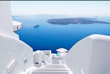Santorini, Greece / Santorini is probably the most romantic island in the Mediterranean. Visit our site for information and exclusive luxury hotel offers at luxury hotels in Santorini. Contact us for a personalised service, help to find the best deal.  www.mediteranique.com/hotels-greece/santorini/