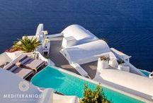 Katikies Hotel Santorini Greece / The Katikies Hotel is a luxury hotel in Santorini Greece http://www.mediteranique.com/hotels-greece/santorini/katikies-hotel/