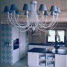 Interior design log house / Interior design, log house. Design made by ar-design.pl