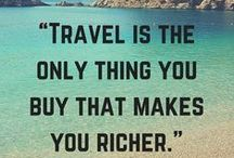 Travel Quotes / Travel inspiration for those who Enjoy Vacationing! http://EnjoyVacationing.com