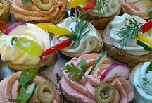 Pomazánky, saláty, studená kuchyně