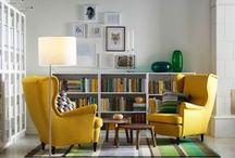 Obývací pokoj, knihovna