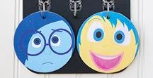 Inside Out / Dedicated to the movie Inside Out - an awesome resource for talking about EMOTIONS!