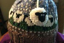 Sheeps...sheeps..knitting sheeps