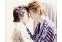 目ぼれ. / 目ぼれ — hitome bore {love at first sight}; misu arata + shingyouji kanemitsu.  takumi-kun series;