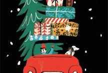 Christmas / Holiday patterns. Christmas designs.
